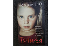 'Tortured' by Victoria Spry [PAPERBACK] A true Life Story book