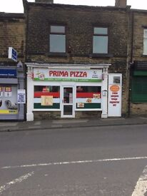 PIZZA AND ITALIAN TAKEAWAY, in Bradford for Sale