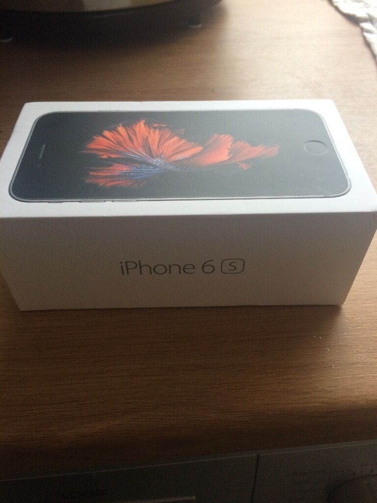 Unused iPhone 6s 32gb vodafone unwanted upgrade