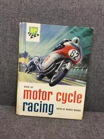 Rare Hardback Book Motor Cycle Racing Edited by Murray Walker 1960 SDHC