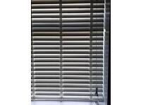 Artic white faux wood blinds *BRAND NEW*