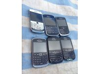 Job lot of untested blackberrys
