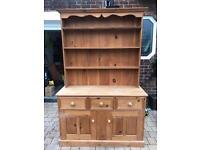 Solid pine welsh dresser