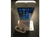 iPhone 5s 16GB (Silver) ~ O2 / Giffgaff ~ Condition: 3 - Acceptable