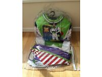 Adult Mens Buzz Lightyear Fancy Dress Costume