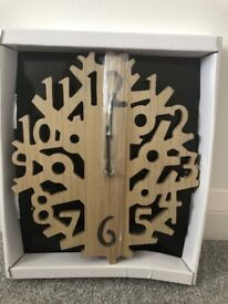 New Wooden Clock
