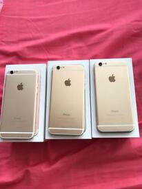 iPhone 6 64gb Gold Unlocked Gold