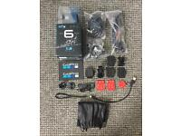GoPro Hero 6 in impeccable condition with new accessories