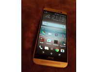 HTC One M9 - 32GB - Gold on Silver (Unlocked)