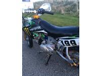 50 cc semi auto pit bike