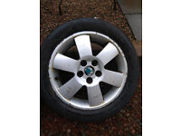 16INCH ALLOY WHEELS WITH TYRES