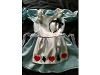 Handmade `Alice in Wonderland' Outfit