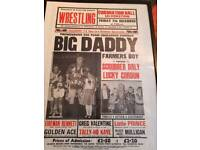 framed Big Daddy poster