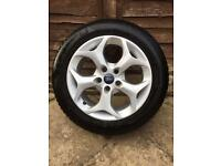 Ford Alloy wheel with new tyre