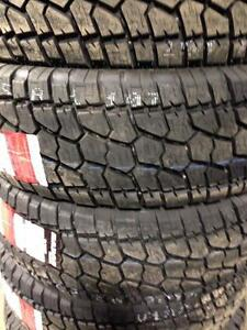 LT245/75  R17 Load E Brand New All-terrain Radar Renegade AT5 10 PLY