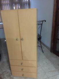 Heavy wood cabinet