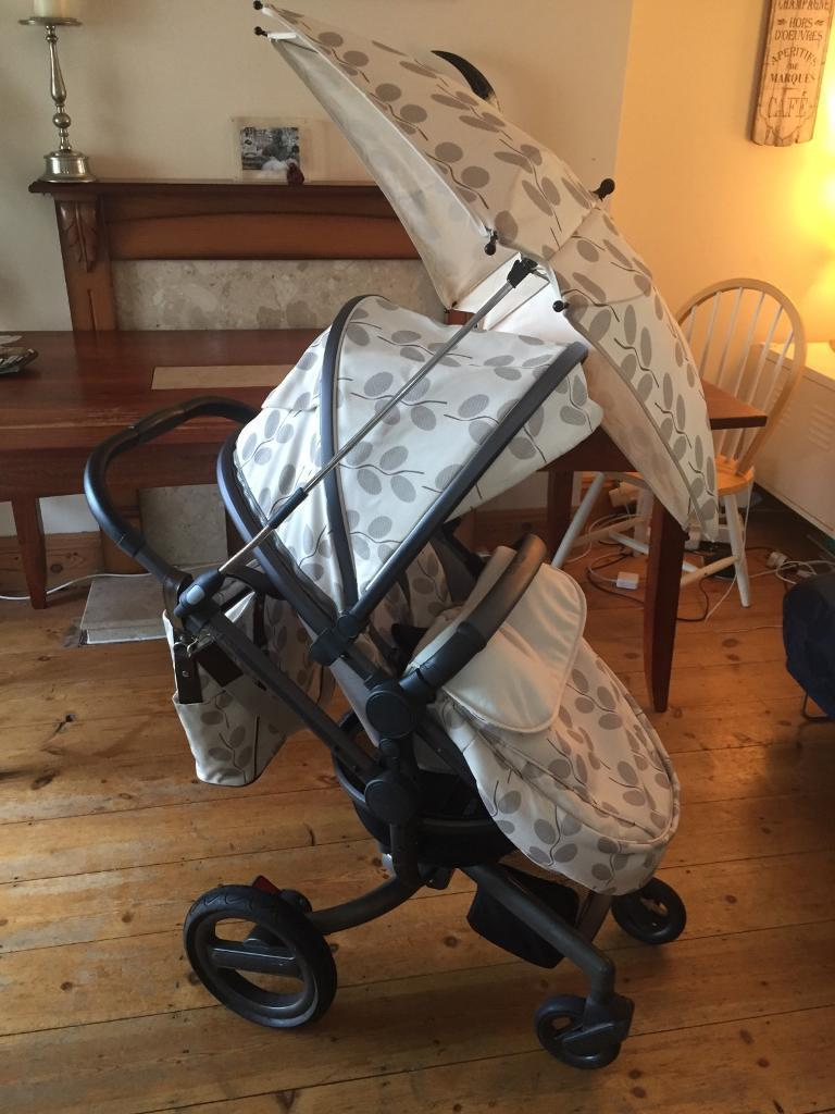 Silver Cross Special Edition Surf Travel System Pram Buggie & Carseat