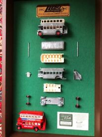 Limited Edition 15th Anniversary Wall display Lledo die-cast model Regent Bus Display