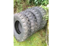 General Super All Grip Radial 7.50 R16 Tyres Brand New Set Of 4 Tyres 7.50R16
