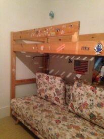 Used Bunk Bed/ Top High sleeper