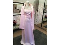 Prom dress size 10 pale pink/baby blush great condition worn once