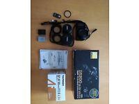 Nikon d5200 18-55 VR kit + Tamron SP AF 90mm F2.8 (+accesores)