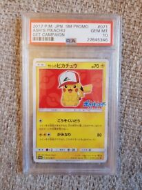 Pikachu Japanese Movie Promo Cards PSA 10!