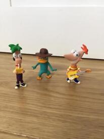 Phineas & Ferb figurines