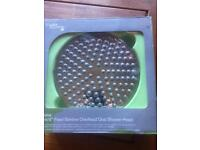 "large 8""/20cm Fixed slimline oval shower head new-"