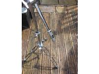 Heavy duty cymbal stand