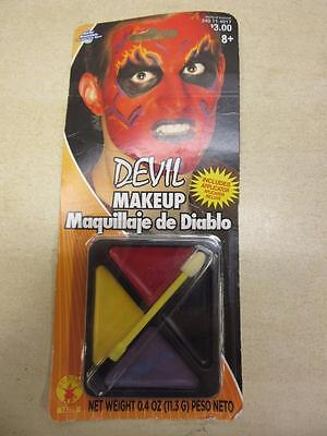 Rubie's Costume Devil Makeup Face Kit Washable With Applicator .4oz Halloween](Halloween Makeup Devil)
