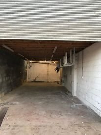 Secure workshop to rent with large office above