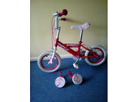 Huffy 12 Inch First Girls Kids Bike, SE28 COLLECTION