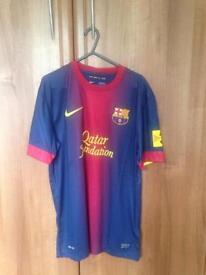 Barcelona football jersey
