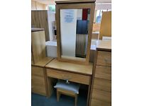 NEW Dressing Table Set with Mirror