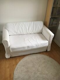Sofa bed £100 (IKEA; two-seat; very good condition)