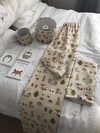 Nursery decor - Woodland Fox (Dunelm)