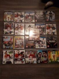 21 x ps3 games huge bundle