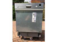Bosch SGI45E15UK 60cm Semi Integrated Dishwasher - Stainless Steel
