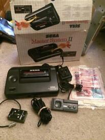 Boxed sega master system 2 console