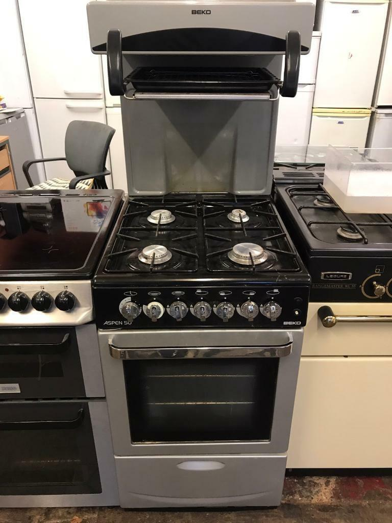 Black and grey beko aspen high level gas cooker!