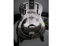 SUPRO ENGRAVED RESONATOR GUITAR--MANCHESTER