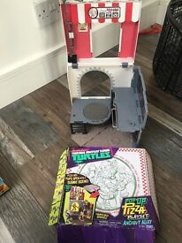 Ninja Turtles pop up pizza play set