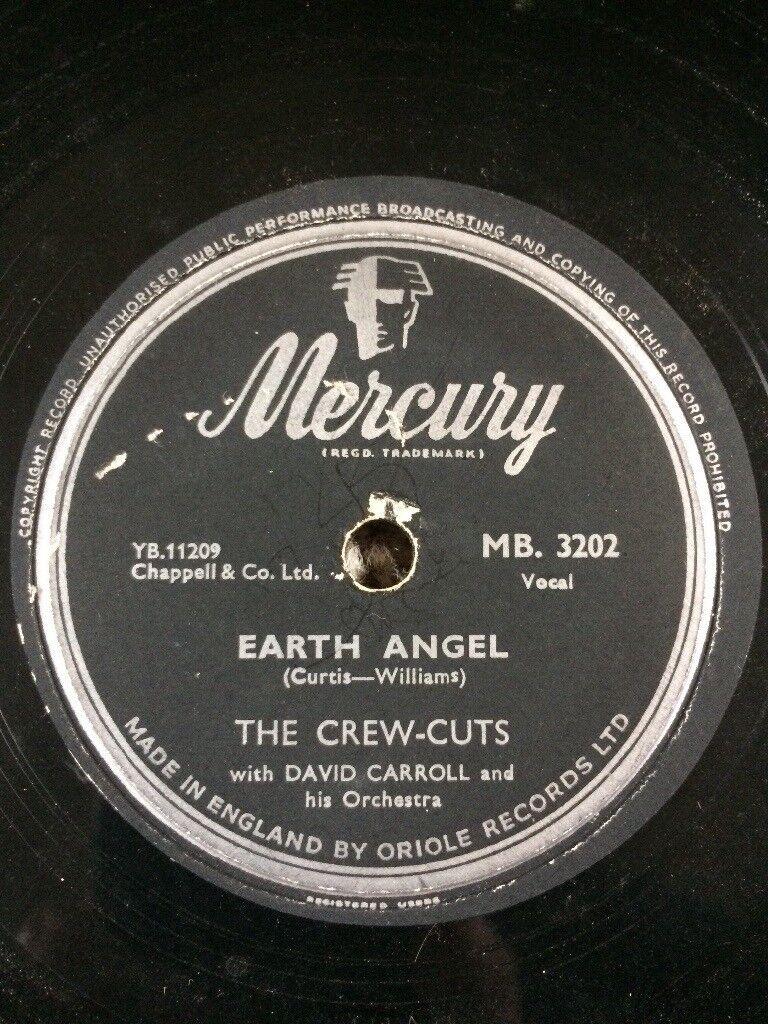The Crew Cuts original 78 record.