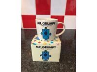 Mr Grumpy tea cup