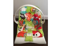 Fisher Price Vibrating Baby Bouncer. Excellent condition.
