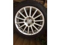 "Mazda 323 15"" alloy wheels"