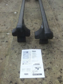 THULE Roof Bars / roofrack - rapid system - kit 1134 - good condition / never fitted.