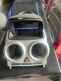 Vauxhall corsa front console