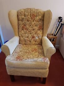 Wingback Chair - Collection Only